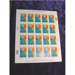 "Mint Sheet U.S. ""Breast Cancer"" Stamps"