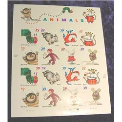 "Mint Sheet U.S. ""Favorite Children's book"