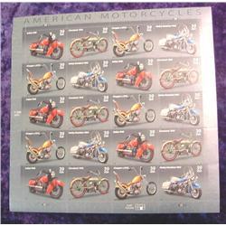 """2005 Mint Sheet U.S. .39c Stamps """"Amer"""