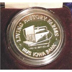1887-1987 Living Histroy Farms 1 oz. .999