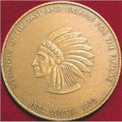 1873-1973 Wiota (Iowa) Centennial Bronze