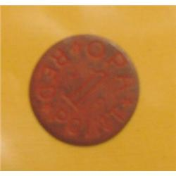 VC Red Point O.P.A. WW II Token