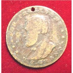 1872 U.S. Grant for President Medal