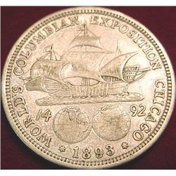 1893 Columbian Exposition Half Dollar