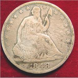 1848 O U.S. Seated Liberty Counterfeit