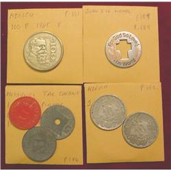 (3) Missouri Tax Tokens; John 3:16 Medal