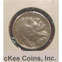 1913 P Type One Buffalo Nickel. Dark