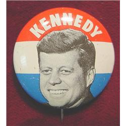John F. Kennedy Campaign Pinback.