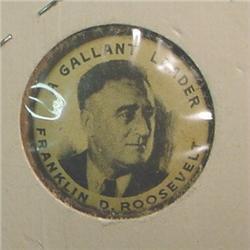 """Franklin D. Roosevelt """"A Gallant Leader"""""""