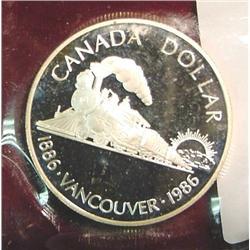 """1886-1986 Canada """"Vancouver Cenetennial"""