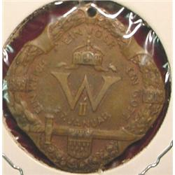 1859-1915 Prussia Medal Br. Uniface.
