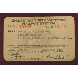 1932-34 Chicago & North Western RR.