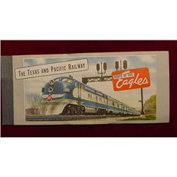 The Texas and Pacific Railway Ticket.