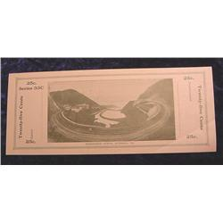 1933 Horseshoe Curve, Altoona, Pa. 25c