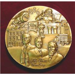 1866-1966 Large Bronze Coca Cola Medal