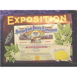 1909 Alaska Yukon Pacific Exposition