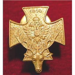 1914 Austrian Medal with an Elk.
