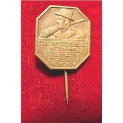 1927 Munich Germany Stick Pin.