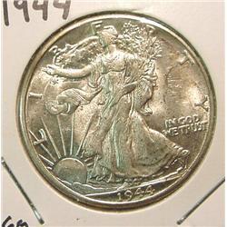 1944P Walking Liberty Half Dollar. AU.