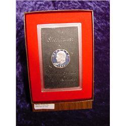 1971 S Silver Eisenhower Proof Dollar.