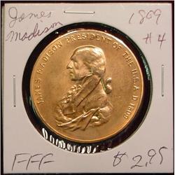 1809 US Mint  James Madison Peace