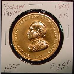 1849 US Mint Zachary Taylor Peace