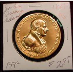 1825 US Mint John Quincy Adams Peace