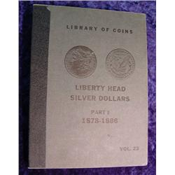 Liberty Head Silver Dollars 1878-86