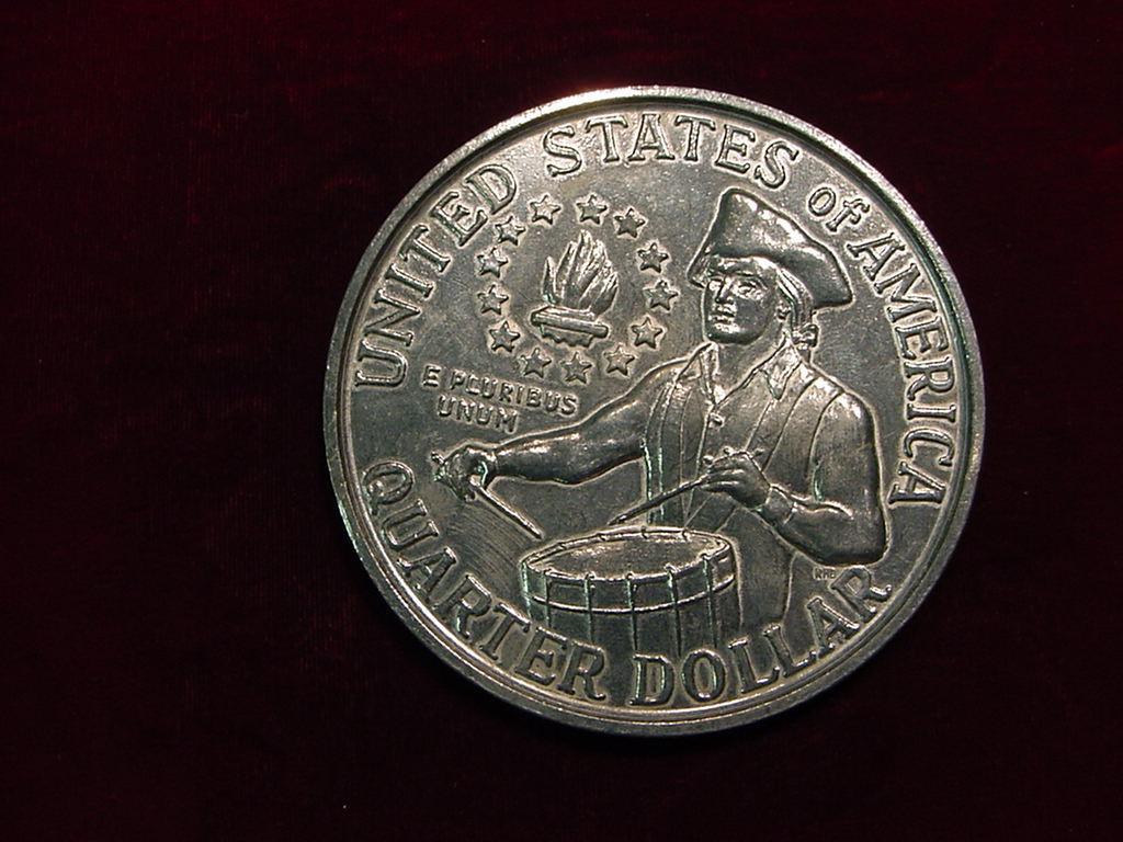 1776 to 1976 quarter dollar no mint