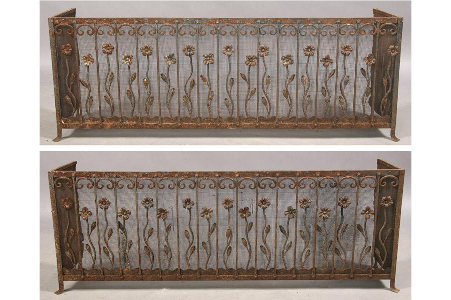 Incredible Pair Of Vintage Wrought Iron Window Boxes Ibusinesslaw Wood Chair Design Ideas Ibusinesslaworg