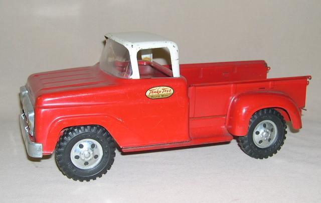1958 Tonka Stepside Pickup Truck