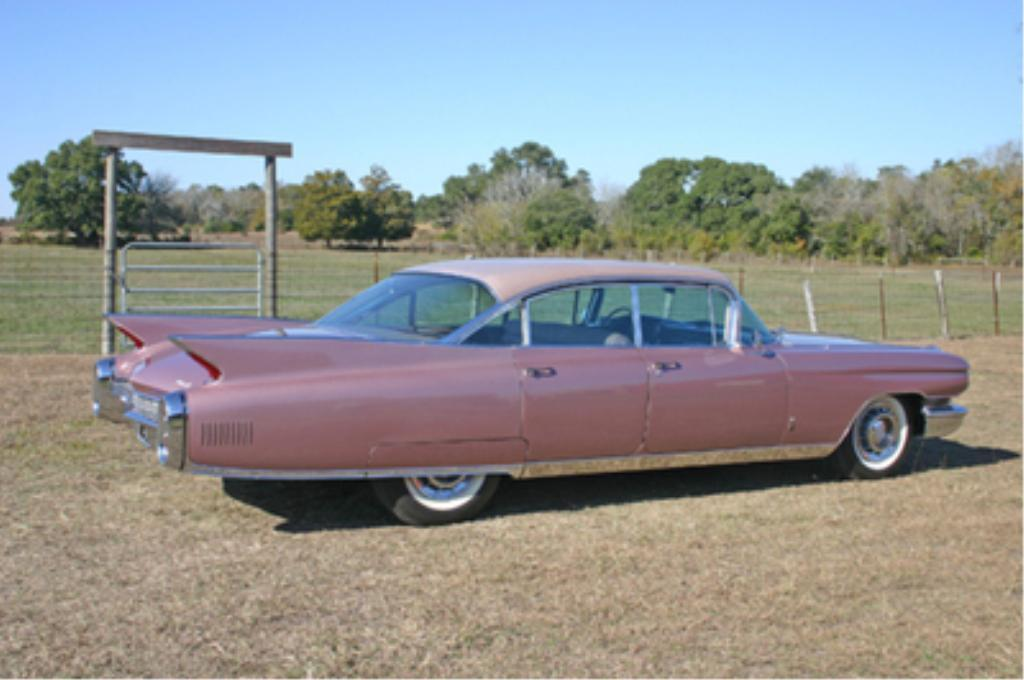 1960 Cadillac Fleetwood Six-Window Hardtop Sedan