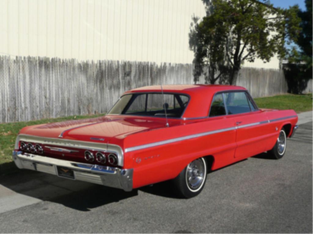 1964 Chevrolet Impala Ss 409 Hardtop Coupe