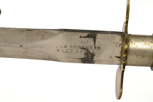 American Bowie Knife by Buck Brothers,
