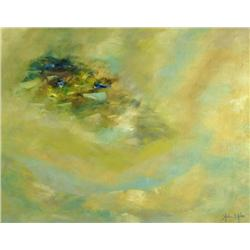 John St. John, Untitled, Oil on canvas,