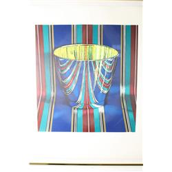 Jeanette Pasin Sloan (American, b. 1946) Bassano Stripes, Signed and dated lower right, 84, 24/75.