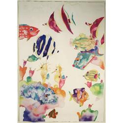 Taylor, Swim Fins, Print numbered 1407/2500,