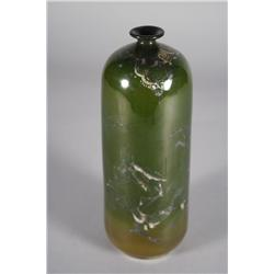 A Japanese Ceramic Bud Vase.