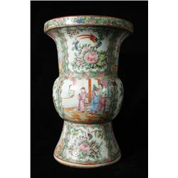 A 19th Century Famille Rose Vase.