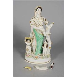 A Staffordshire Porcelain Figurine,