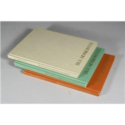 """A set of three """"Graphics: Catalogue Raisonne"""" hardcover books with original hand-colored etchings by"""