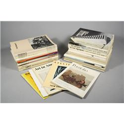 A Collection of Art Magazines,
