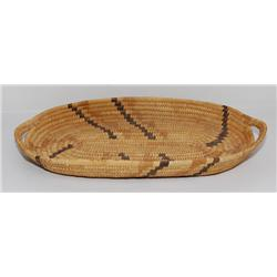 PAPAGO OVAL  BASKETRY TRAY