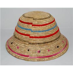 ESKIMO BASKETRY HAT
