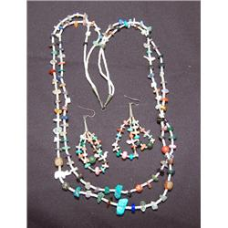 SANTA DOMINGO NECKLACE AND EARINGS
