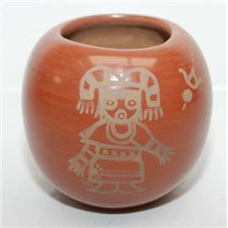 SAN ILDEFENSO POTTERY JAR