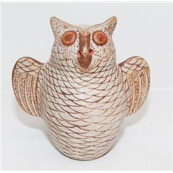HOPI POTTERY OWL