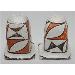 ACOMA SALT AND PEPPER SHAKERS
