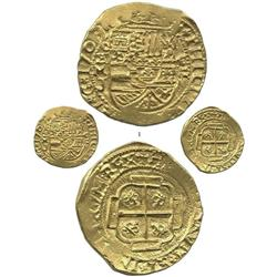 Mexico City, Mexico, cob 8 escudos, 1709J, possible  Royal  presentation issue, extremely rare and c