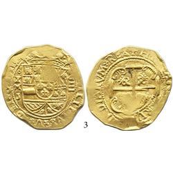 Mexico City, Mexico, cob 8 escudos, 1711J.